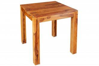 Jídelní stůl LAGOS SQUARE 70 CM masiv sheesham
