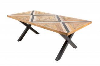 Jídelní stůl LONG ISLAND 200 CM mangová dýha