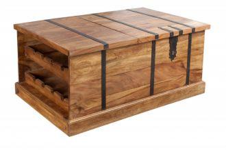 Barový stolek BODEGA 100 CM masiv sheesham