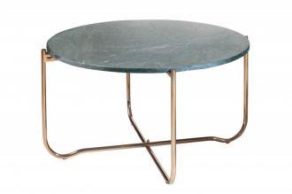 Konferenční stolek NOBLES 62 CM zelený mramor