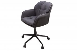 Pracovní židle LOUNGER tmavě šedá