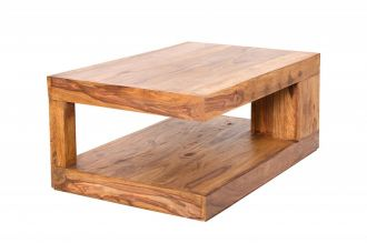 Konferenční stolek GIANT XL 90 CM masivsheesham