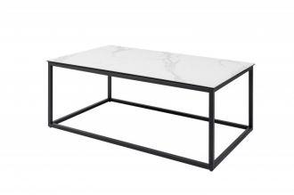 Konferenční stolek SYMBIOSE WHITE MRAMOR 100 CM keramika