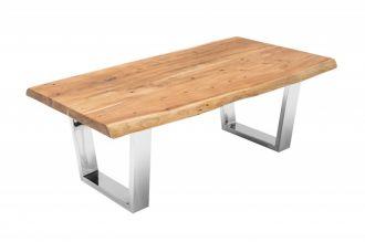 Konferenční stolek MAMMUT 110 CM masiv akácie