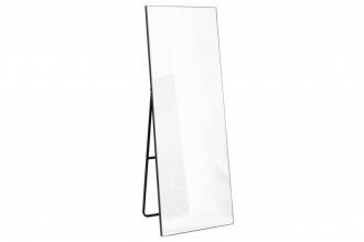 Stojací zrcadlo NOEMI 170 CM černý rám