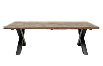 Jídelní stůl BARRACUDA X 220 CM masiv teak