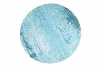 Kulatý koberec MODERN ART 150 CM tyrkysovo-béžový