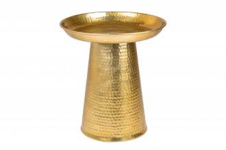Odkládací stolek ORIENT 45 CM zlatý