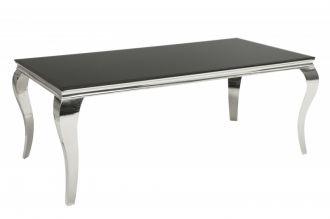 Jídelní stůl MODERN BAROCCO 200 CM černý