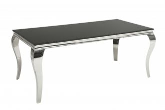 Jídelní stůl MODERN BAROCCO 180 CM černý