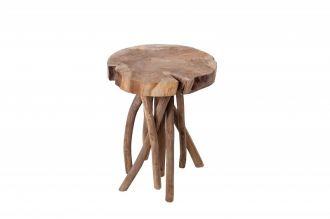 Odkládací stolek ROOT 45 CM masiv teak