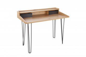 Psací stůl STUDIO 110 CM dubový vzhled