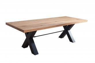 Jídelní stůl THOR II 200 CM masiv divoký dub