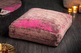 Podlahový polštář MODER ART 70 CM červeno-růžový
