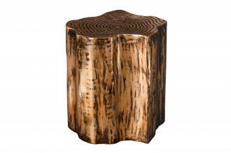 Odkládací stolek ORIENT NATUR 47 CM zlatý