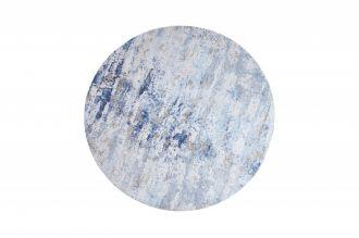 Kulatý koberec MODERN ART 150 CM modro-béžový