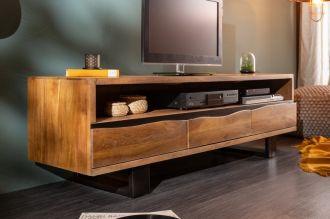 Televizní stolek MAMMUT 160 CM masiv akácie honey