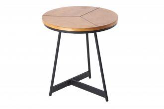 Odkládací stolek ELEGANCE 45 CM dubový vzhled