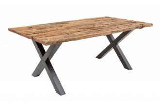 Jídelní stůl BARRACUDA X 180 CM masiv teak