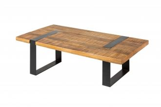 Konferenční stolek IRON CRAFT 120 CM masiv mango
