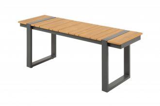 Zahradní stolová lavice TAMPA 123 CM polywood