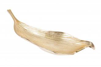 Mísa LEAF 64 CM zlatá