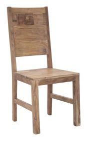 2SET jídelní židle DEOLA masiv akácie