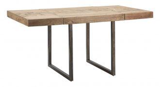Jídelní stůl rozkládací DEOLA 80-160 CM masiv akácie