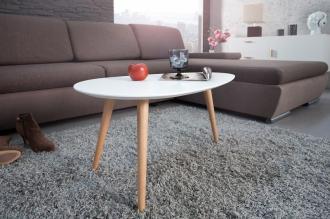 konferenční stolek SCANDINAVIA WHITE 75