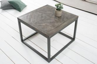 Konferenční stolek INFINITY 60CM GREY masiv mango