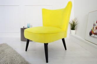 židlo-křeslo RETRO SIXTIES YELLOW