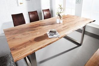 jídelní stůl MAMMUT 200-B masiv akácie