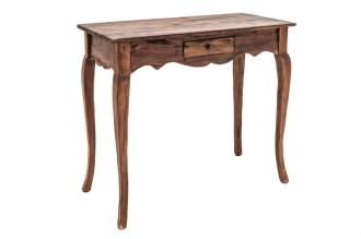 Odkládací stolek HEMINGWAY RETRO NATURE masiv mahagon