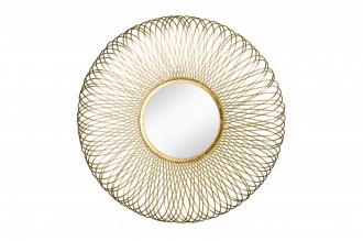 Zrcadlo INFINITY GOLD 62 CM