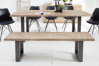 2SET stolová lavice WOTAN 160-C masiv akácie