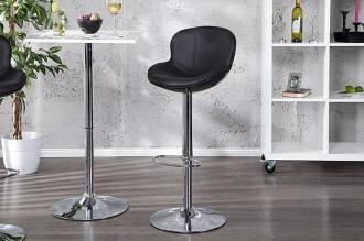 barová židle SPEEDCHAIR BLACK