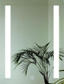 luxusní zrcadlo LUMINA 80/60 LED osvětlení s dotykovým senzorem