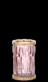 luxusní kelímek na kartáčky WAVE patinovaná mosaz