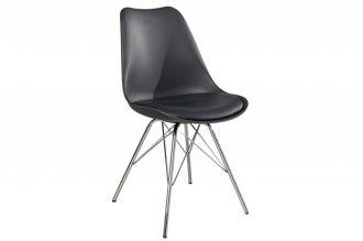 židle SCANDINAVIA RETRO GREY