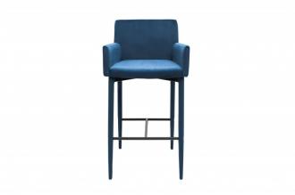 Barová židle MILANO královská modrá