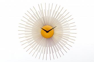 Nástěnné hodiny SUN 70 CM zlaté