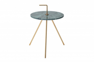 Odkládací stolek SIMPLY CLEVER 36 CM GREEN mramor