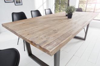 Jídelní stůl WOTAN 160  CM masiv akácie, II. jakost