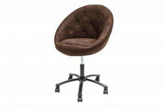 Pracovní židle COUTURE ANTIK COFFEE, II. jakost