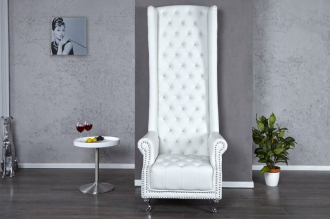 křeslo ROYAL CHAIR WHITE