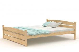 Borovicová postel 180×200