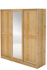Šatní skříň zasouvací se zrcadlem