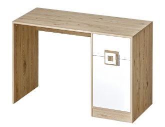 Pracovní stůl NIKO 10 dub jasný/bílá