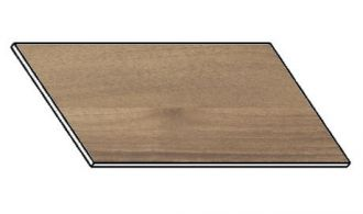 Kuchyňská pracovní deska 120 cm ořech ontario