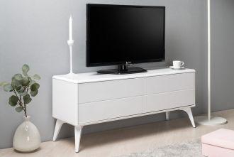 Televizní stolek SCOPE bílá lesk